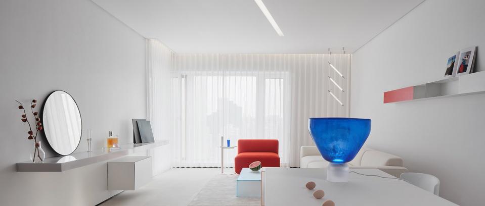 朴居设计研究室 | 如海风般的家,清澄如初